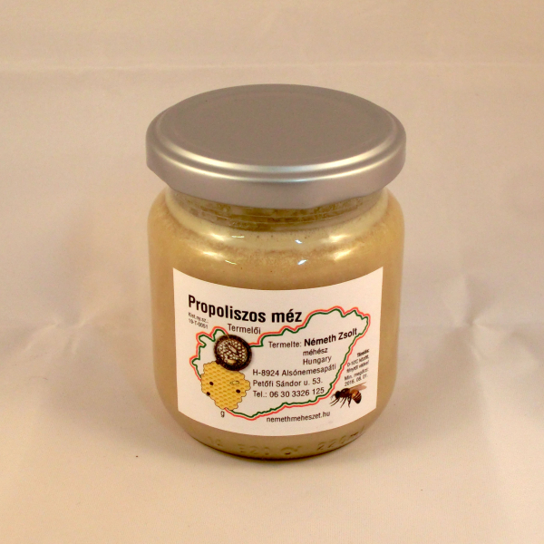 Honey with propolis